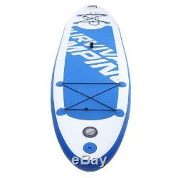 Adjustable 10'10 SUP Inflatable Stand Up Paddle Surf Board Pump with Repair Kit