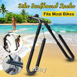 Adjustable Surfboard Skimboard Bicycle Bike Rack Carrier Surf Surfing Wakeboard