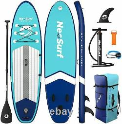 Adult Inflatable Stand Up Paddle Board SUP Surf Board Dedicated Pump Backpack