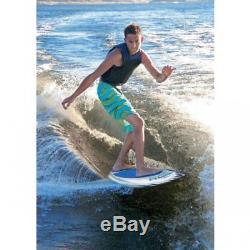 Airhead Banzai Wakesurfer Lake Ocean Fiberglass Wake Surfing Board for Beginners