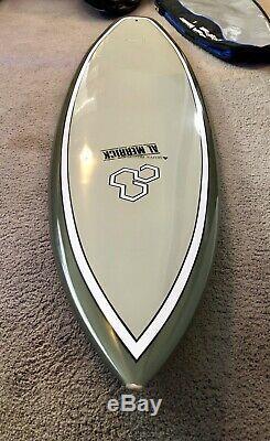 Al Merrick Tuflite 64 Flyer Surfboard & Bag