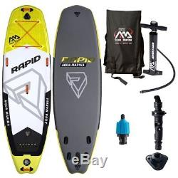 Aqua Marina Rapid River Inflatable Stand-up Paddle Board 10-10 L x 33 W x 6 D