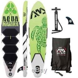 Aqua Marina Thrive 9'9 Inflatable Stand Up Paddle Board (SUP) with Paddle