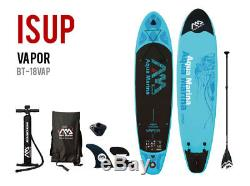 Aqua Marina Vapor 10' 10 SUP Inflatable Stand Up Paddle Board