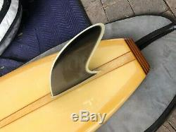 Authentic Collectable Surfboard Yater Spoon Numbered and Signed