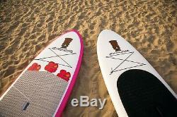 Beautiful Custom Girly Paddle Board SUP Pink Paddleboard Surfer Chick