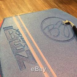 Ben Severson BZ T 10 channel Diamond Rail bodyboard