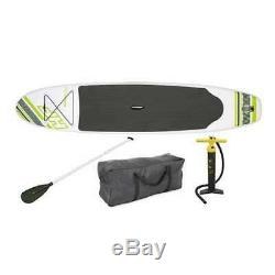 Bestway Inflatable Hydro Force Wave Edge 122 x 27 Paddle Board, Green (Used)