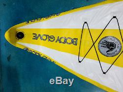 Body Glove Performer 11 Inflatable Standup Paddle Board YellowithWhite