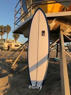 Brand New Navy Blue Sea Surfboard 6'2'' x 21'' x 2 1/2' 37 liters
