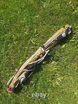 Cabrinha 2008 12M Kite-surfing Kite Set With Bar, Pump, Carrying Bag