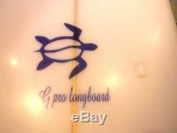Cj Chuck Johnson Surfboard Longboard 9'2 Exc. Preowned Local Pu 93065