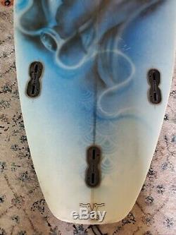 Combs Surfboard Custom Hand Made 5'8 Rare