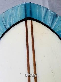 Cooperfish Surfboard- shaped by Gene Cooper 94 Nose Devil