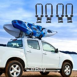 Cross J-Bar Foldable Kayak Carrier Roof Rack Top Canoe Boat Surf Truck Car SUV