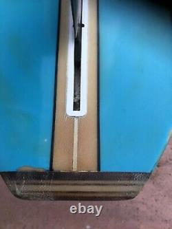 Custom Kennedy Long Board Surfboard 9'8 -Tri fin, Triple Stringer