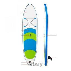 DHL 10ft Surfboard Inflatable Stand-Up Adult Paddle Board Surf board Float Gift