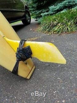 Dewey Weber 1970's Vintage Surfboard Weber Performer 9'9 Longboard