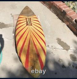 Dewey Weber surfboard vintage 1981 59 x 20 x 2 1/4 single fin Team Weber