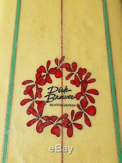 Dick Brewer 9'4 Surfboard 5-stringer Super Rare