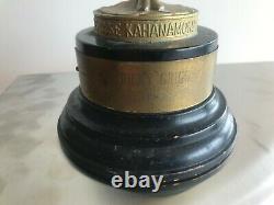 Duke Kahanamoku 1967 Ricky Grigg trophy set-vintage, classic, surfboard, surf