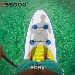 ESSGOO Stand Up Paddleboard SUP Paddle Board Case Pump Inflatable River Lake