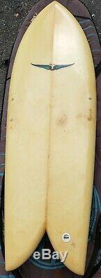 Early 90s skip frye fish surfboard