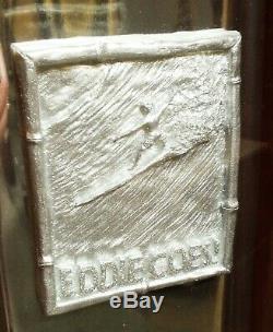 Eddie Aikau Metal Surfboard Trophy
