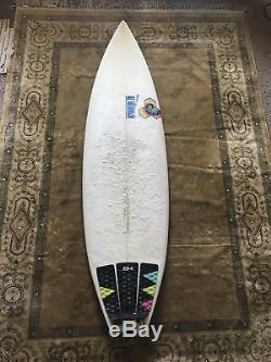 Excellent Condition 510 Channel Islands Fred Rubble Surfboard
