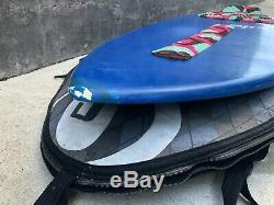 Exile Recruit Carbon Fiber 52 Skimboard with stomp pad