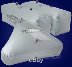 Fly High Fat Sac Wake Surf Boat Ballast Bag Set W701 And Open Bow Triangle W706