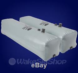 Fly High Side Set Fat Sac Wakeboard Surf Boat Ballast Bags 520lbs Gray W703