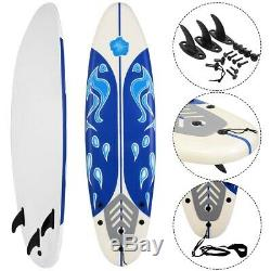 Foamie Boards Surfboards For Beginners Adults & Kids 6' High Speed Surfing Board