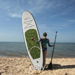 FunWater Inflatable SUP Stand Up Paddle Board 10'x30x 6 Kayak withcomplete kit