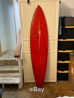 Gerry Lopez Lighting Bolt surfboard 74