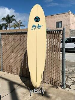 Gerry Lopez Vintage surfboard 710 Signed Hand shaped