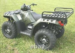 Great Day Mighty-Lite Rear Rack Polaris ATV, Black, 41x26x7in, MLRR60P