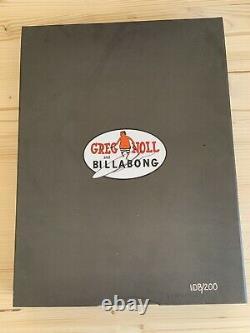 Greg Noll Autographed Billabong Trunks # 108 Of 200