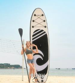 HIJOFUN Inflatable SUP Paddleboard Paddle Board Stand UP Surfboard Kayak Gift