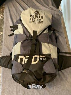 HQ Powerkites NEO 11 Kite Surfing Kite- 22Ft. Width-span