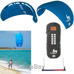 HQ Rush V 200 Trainer Power Kite Surf Foil Kitesurfing Boarding Bar Water Sports