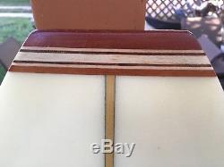 Harbour Banana Pope Bisect Travel Surfboard 2 Piece -Signed Rich Harbour 9'8