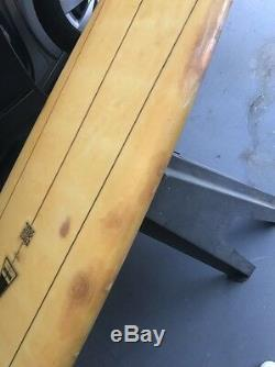 Harbour longboard surfboard Trestle Special 60's Original Glassed Fin 9'10