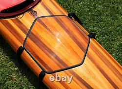 Hudson Surf Kayak Cedar Wood Strip Built 18' Surfing Boat Woodenboat USA New