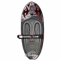 Hydroslide 2018 Revolution 52 Inch Surfing Tow Behind Kneeboard Wakeboard, Black