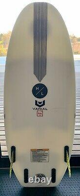 Hyperlite Varial Riot Series Wakesurf Board Wake Surf MINT SETUP WakeBoard