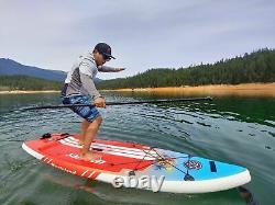 ISUP 9 feet -Inflatable Paddle Board- Sail Fin Wasteland 1-Year Limited Warranty