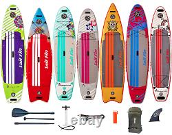 ISUP 9' to 12' -Inflatable Paddle Board- 1-Year Limited Warranty Sail Fin USA
