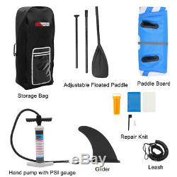 Inflatable 10.5'x 30 x 6 Water Stand Up Paddle Board 2 in 1 Kayak Surfboard