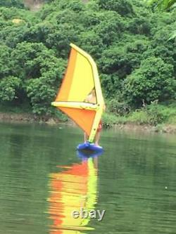 Inflatable PVC SUP Sailboat Windsurfing Paddle Surf Board NEW